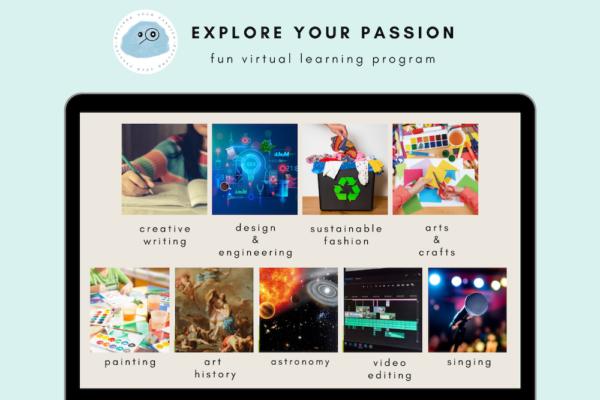 Explore Your Passion Virtual Classes