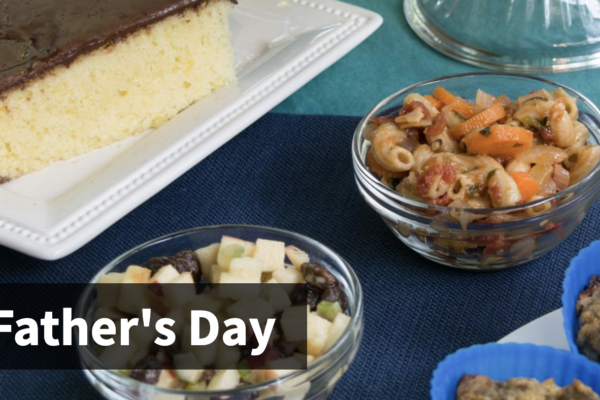 Father's Day Menu from SNAP-ED