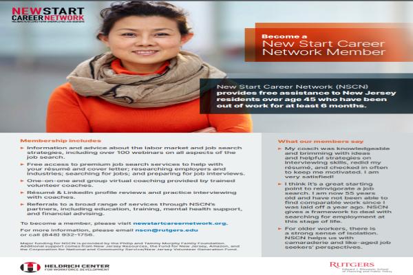 New Start Career Network – Free Support